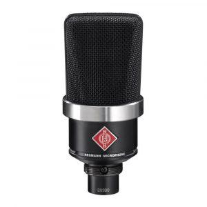 Neumann TLM 102 Condenser Mic by Audio Trove Black