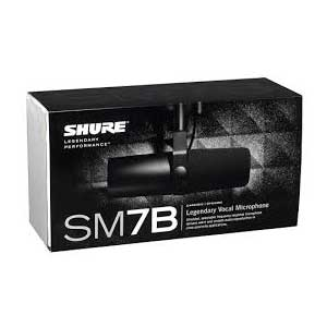 Shure SM7B Studio Microphone by AudioTrove Packaging