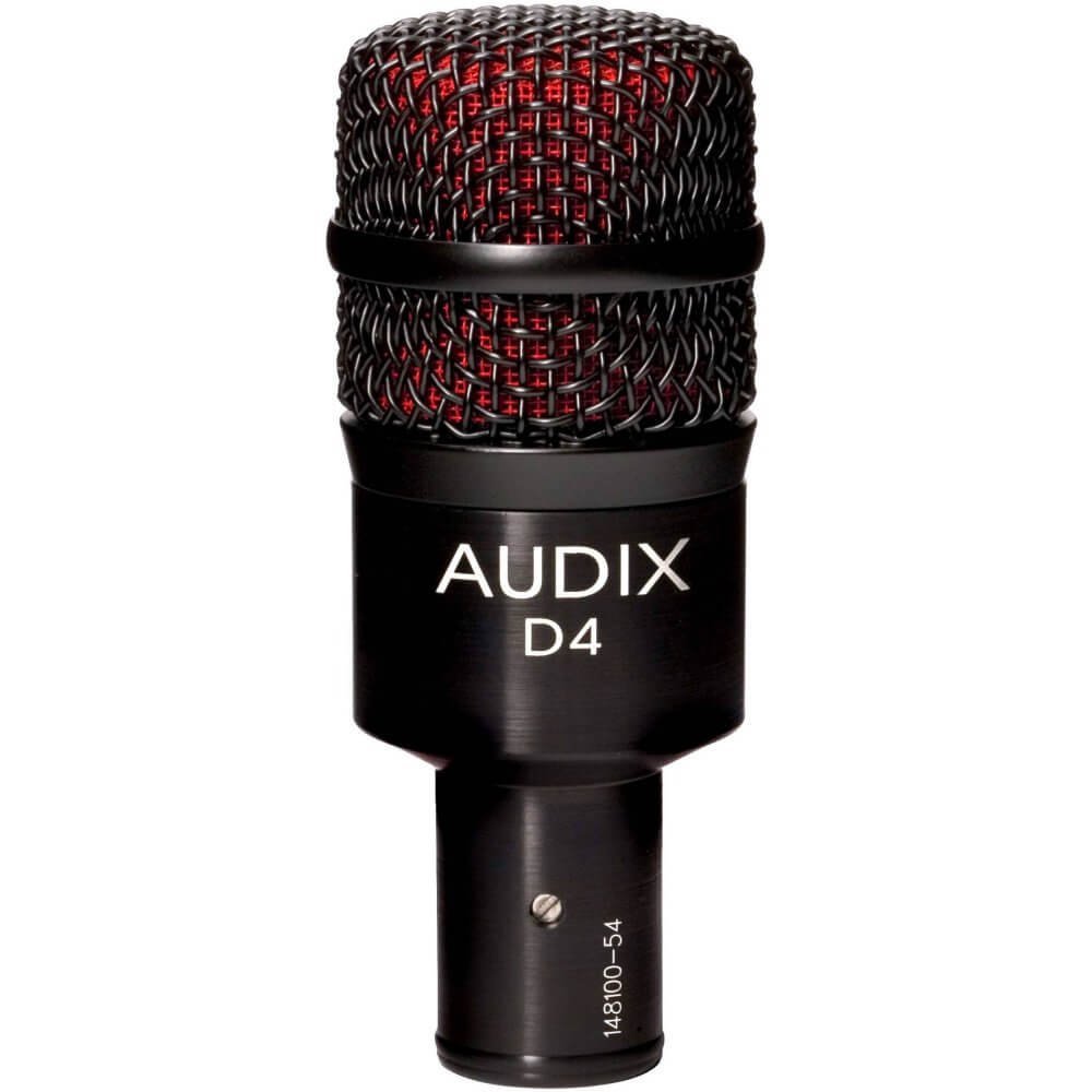 Audix D4 Dynamic Instrument Microphone by Audio Trove